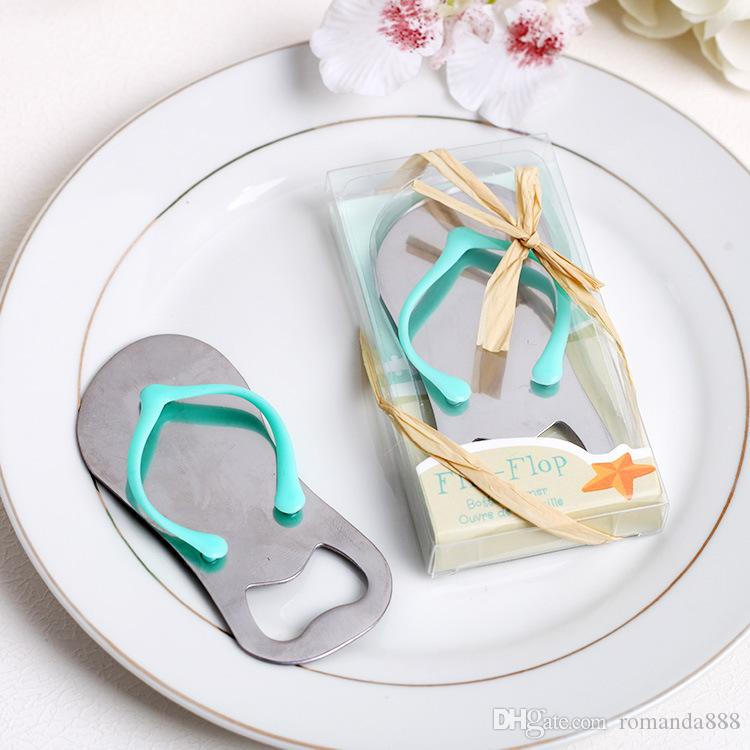 e2ccd43d9 Creative Stainless Steel Sandals Shoes Beer Bottle Opener Red Wine Openers  Slipper Shaped Wedding Favor Gifts DHL Birthday Favors Birthday Party  Decorations ...