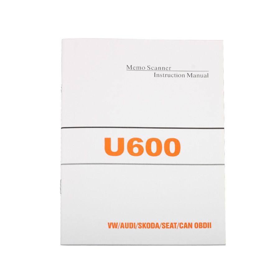 Advanced OBD2 Memoscan U600 Diagnostic Scanner Tool for VW for Audi U600 OBD2 CAN-BUS Code Reader Live Data Update online