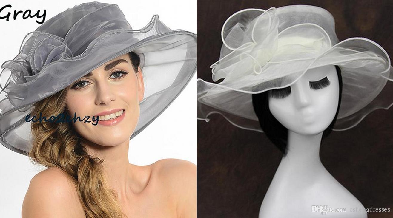 White Wedding Hats Online - Parchment N Lead 05b7de8b76d