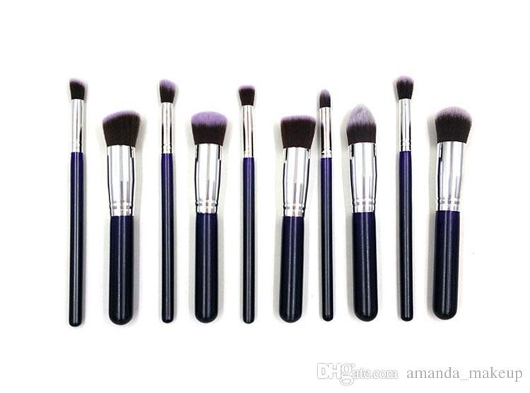 Best Quality Makeup Brush Set For Women Synthetic Hair Kabuki Brush  Cosmetic Brush Set Black Make Up Brush Kit Foundation Facial Brush Makeup  Brush Set ... 250f262c0