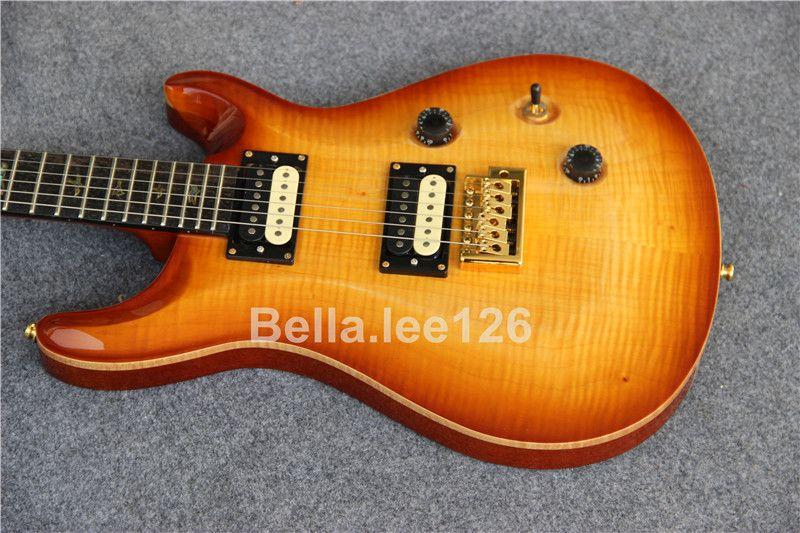 Custom Guitar Store, Honey Burst Color Paul Reed Elektrische Gitaren, Global Popular 6 String Music Instrument Gitaren