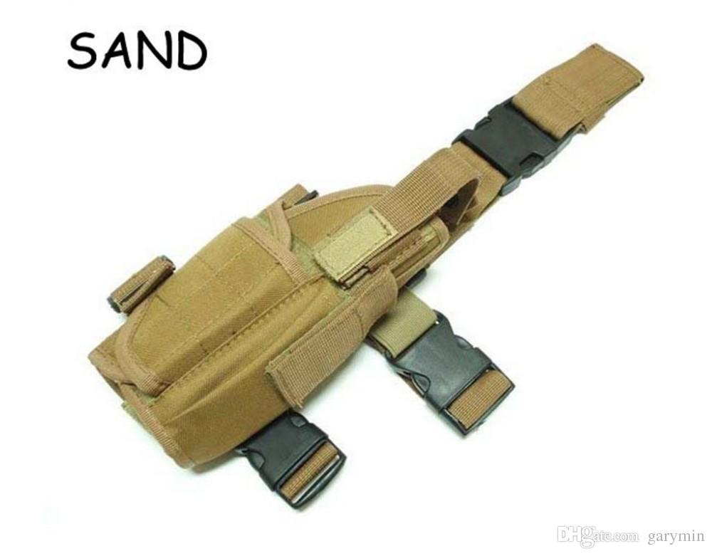 Тактический падение ноги пистолет кобура сумка охота