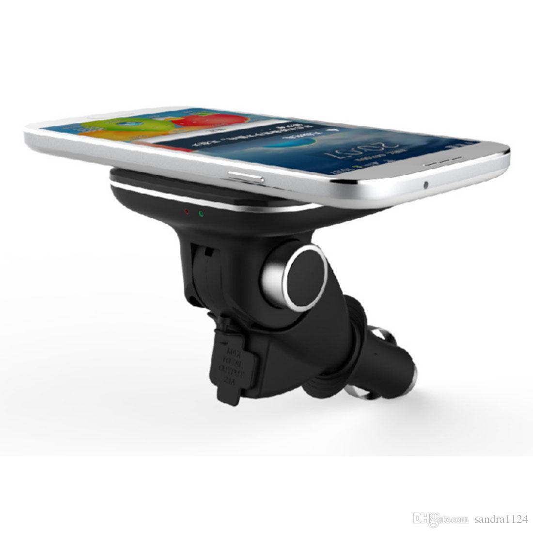 Auto Bluetooth FM Transmitter FM Modulator Car Kit Freisprecheinrichtung USB Ladegerät Tragbar Universal für Apple iPhone Samsung HUAWEI