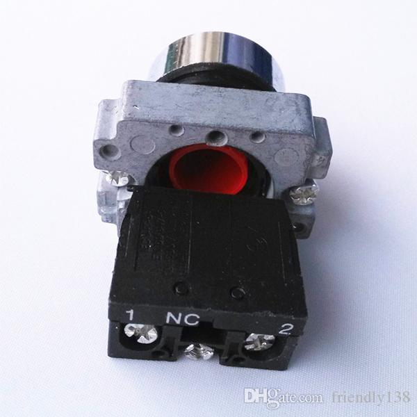 XB2-BA42 1NC Neue Schneider 660 V 10A Schwere momentary Red druckschalter taste Hohe Qualität
