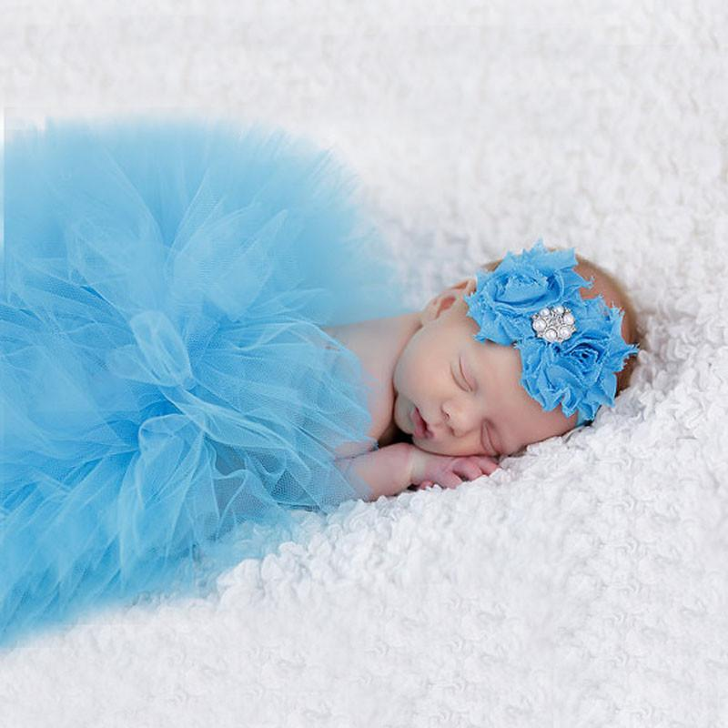 2018 wholesale newborn photography props baby girl dress 1 year girl baby birthday dress infant outfit cute ball gown princess dress from sophine14