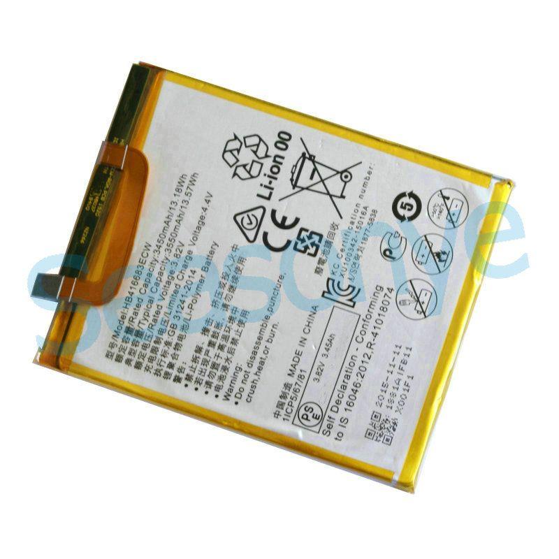 10 pz / lotto 3450 mAh / 13.18 Wh H HB416683ECW 3.82 VDC Sostituzione Li-Polimero Batteria Huawei Ascend Nexus 6P Angler H1511 H1512