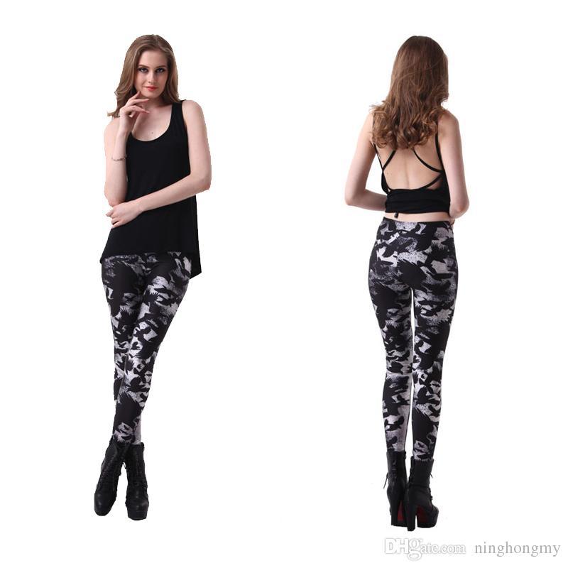 2018 Autumn Fashion Women's Ladies Galaxy Leggings Electric Printed Tights leggings pants for Women Spandes Christmas Women Slim Fit Legging