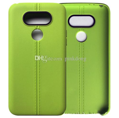 fashion Ultrathin line TPU Soft PU leather matte case cover skin for LG G5 cheap case
