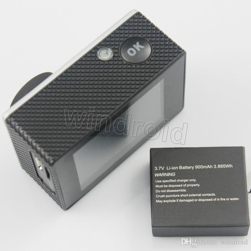 "Sports HD Action Camera Diving 30M 2"" 140° Meter Waterproof Cameras 1080P Full HD SJcam Helmet Underwater Sport DV Car DVR cheap A9 50"