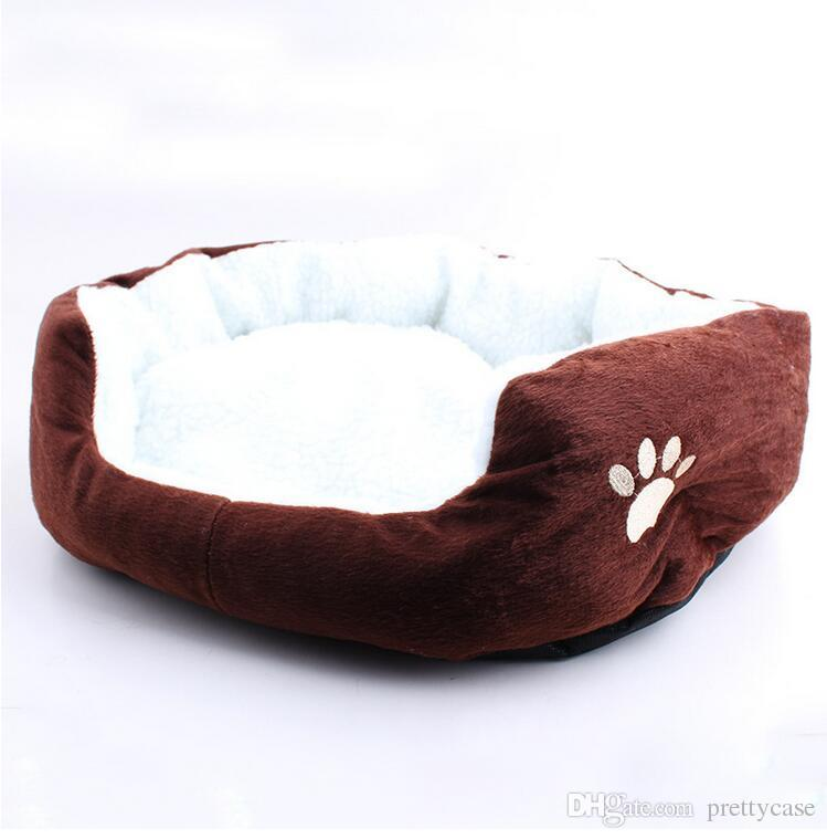 Hot Sale High Quality Warm Soft Pet Dogs House Dog Kennel Cushion Removable Dog Bed Sofa Mat Pet Product Sleeping Bag