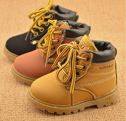 9b639d9c77d88 New Fashion Winter Baby Boots Boys and Girls Calzado Botas 2017 Infant Girl  Winter Leather Boots Baby Boots