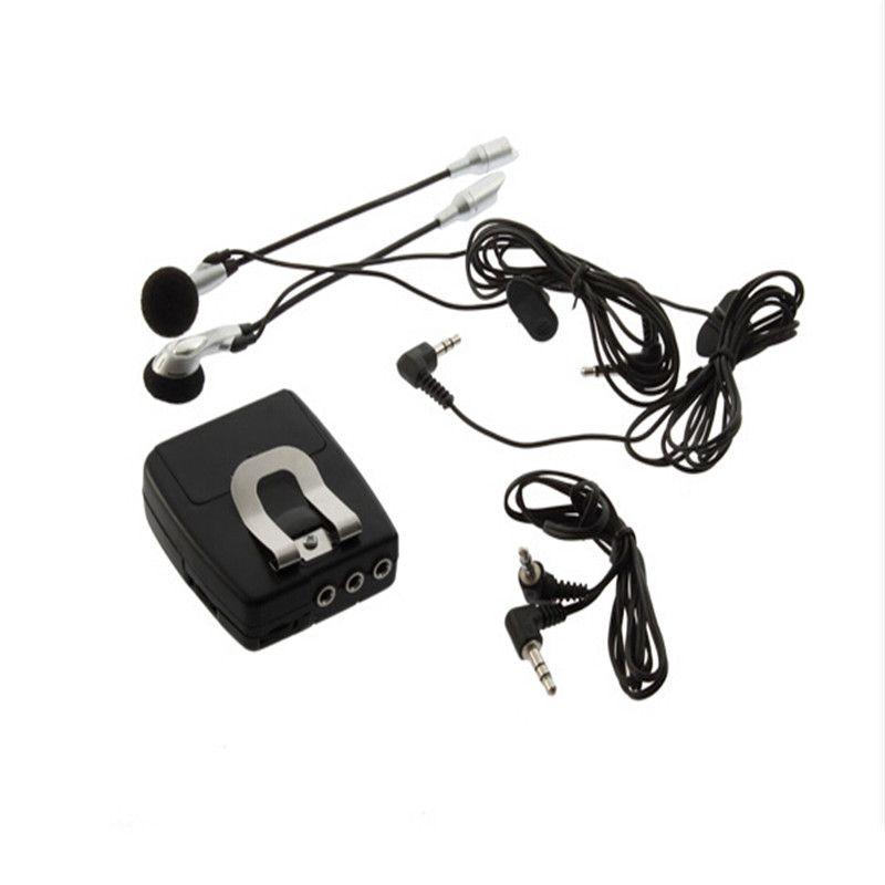 Motorrad-Sturzhelm-Audio-Wechselsprechanlage-Kopfhörer des Motorrad-/ mit Audioeingangsstecker IPOD MP3 freies Verschiffen