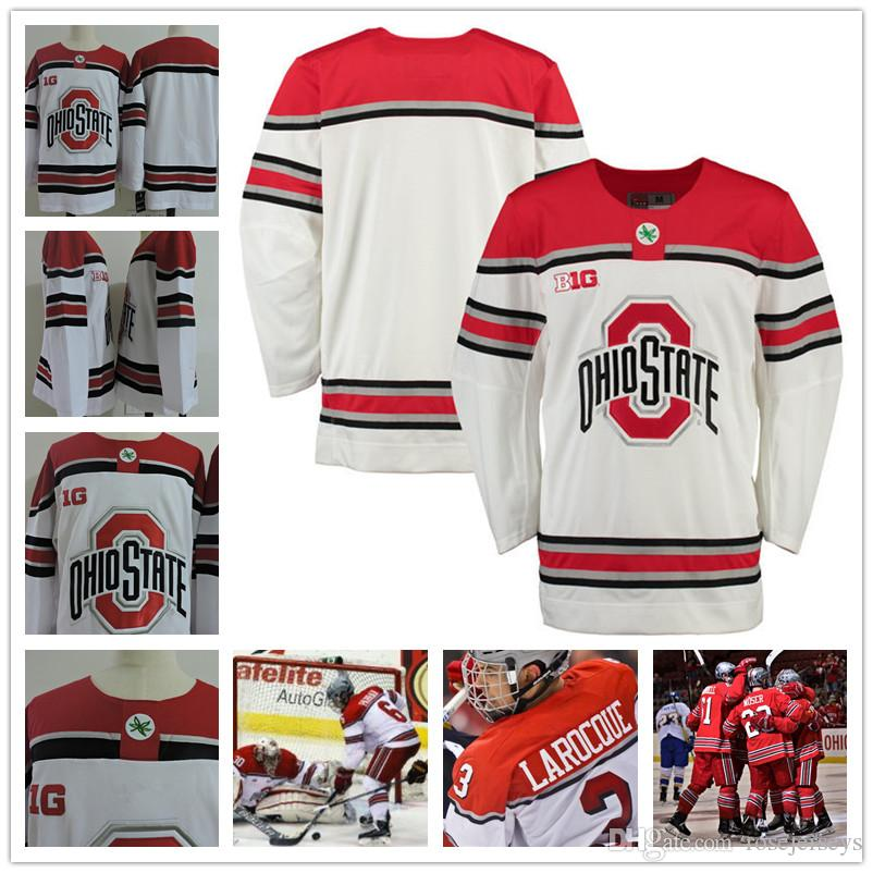 the latest 76ff6 e3a4b mens ohio state buckeyes customized white jersey