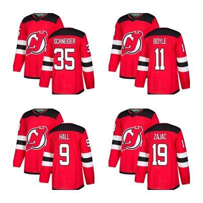 Men s 2018 New Jersey Devils STARS 9 Taylor Hall Cory Schneider ... 88e7a27ff