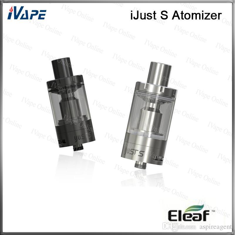 100% оригинал Eleaf Ijust S распылитель 4 мл с новым ECL 0.18 ohm Глава новый дизайн воздушного потока верхний заполняющий воздушный поток регулируемый бак iJust S