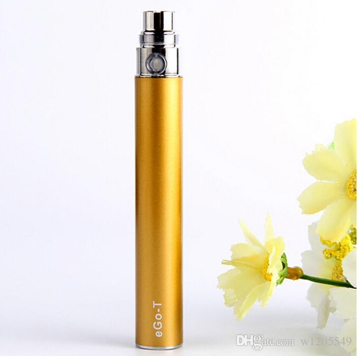 Batteria EGO sigaretta elettronica E-cig Ego-T 510 fiammifero CE4 atomizzatore CE5 clearomizer CE6 650mah 900mah 1100mah