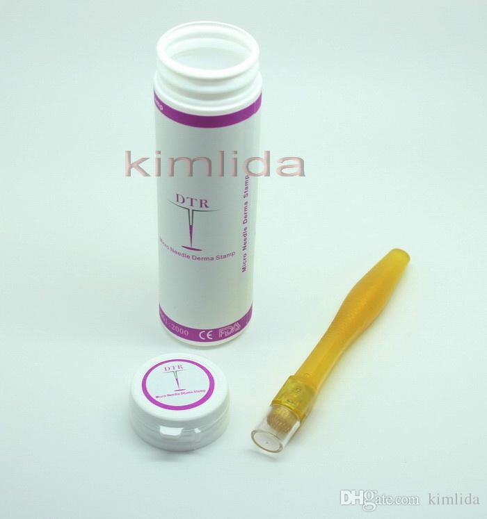 Novo 35 agulhas de titânio selo derma Cicatriz redução Micro Sistema de Agulhas MT DRS DNS Derma roller