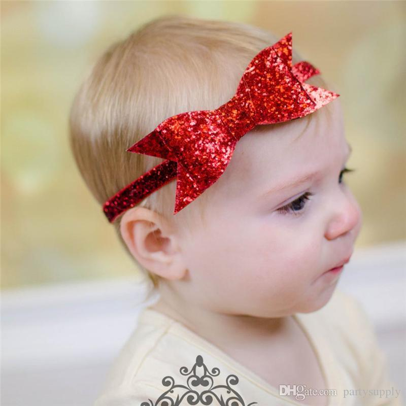 Accessories Hair Accessories Efficient Headband Children Diy Solid Hair Bands Baby Baby Tiara Bow Hair Accessories White Red Turban Baby Bows