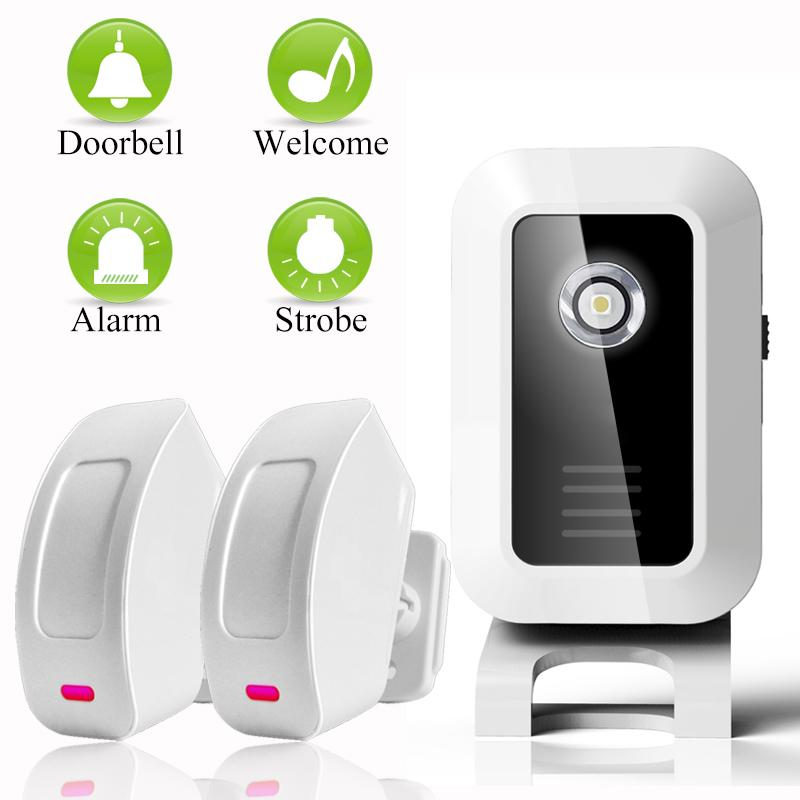 Welcome Device Shop Store Home Welcome Chime Wireless Infrared Ir