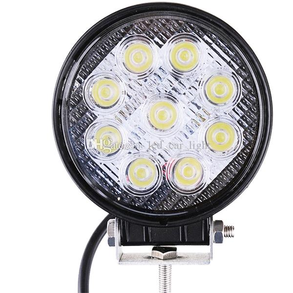 27W high Brightness LED work light floodlight tractor truck off-road SUV 12V-24V LED Spot Driving Fog Light Daytime Running light