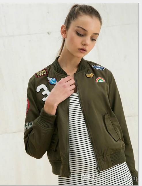 Nouveau manteau de base de manteau de femme de manteau de la femme et costume de vol féminin manteau décontracté de femmes manteau de manteau de patch brodé de femmes