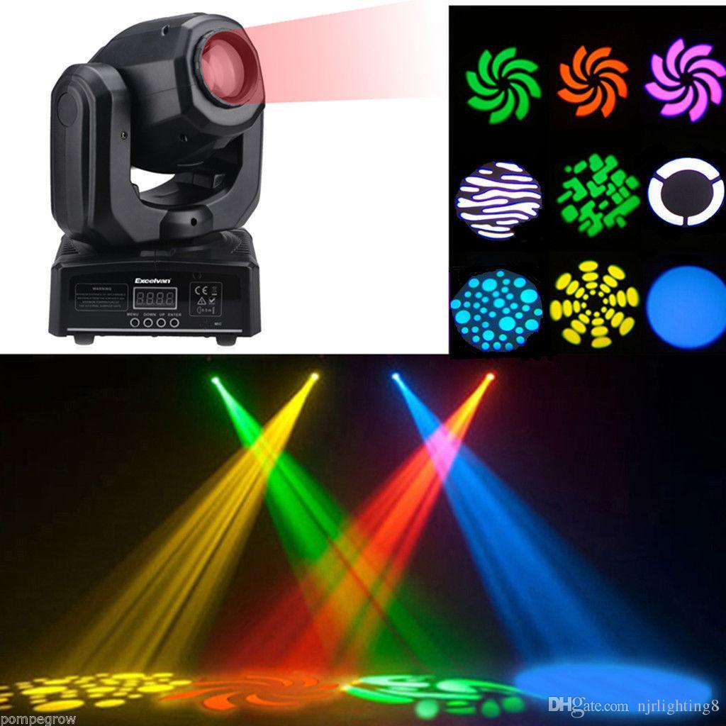 2018 Nj L30 30w Mini Led Spot Moving Head Light For Dj Party Rgbw