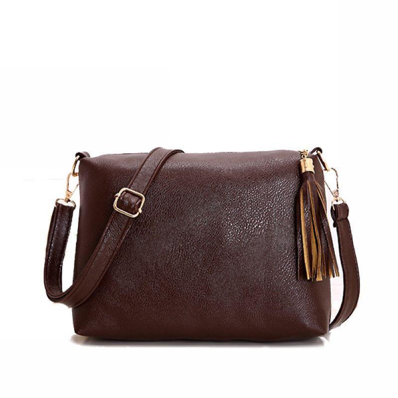 444e1ea799 Wholesale- 2016 Famous Brand Women s Bag Soft Pu Leather Fringe ...