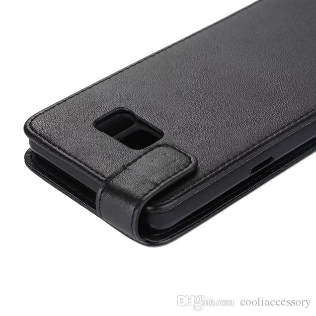 Flip PU Sacoche En Cuir Case Pour LG X Écran Huawei 2016 Y5 Y3 Souple TPU Noir Verticale Plain Blank Cell Phone Couverture De Peau