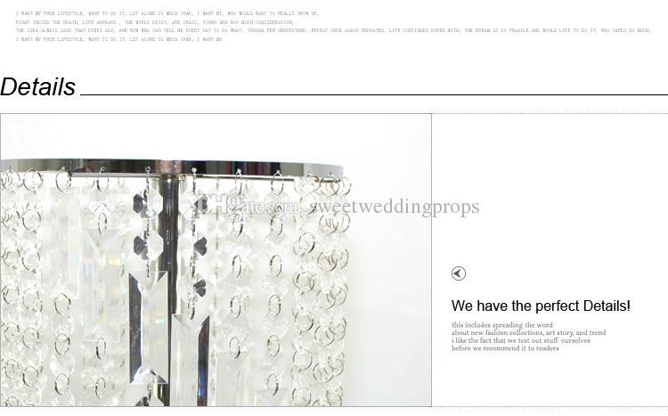 Moda Lüks Kristal Düğün Yol Kurşun Düğün Olay Parti Malzemeleri Dekorasyon Düğün Zemin