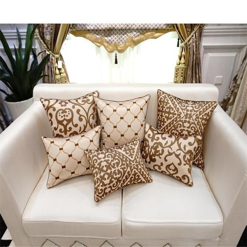 bz153 luxury cushion cover pillow case european embroidery cushions