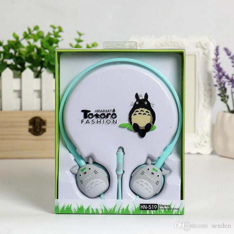 Nueva llegada de dibujos animados lindo Auriculares KN519 Auriculares de oreja de gato para el teléfono móvil Lindo deporte sobre oreja Auriculares Auriculares para niños regalo