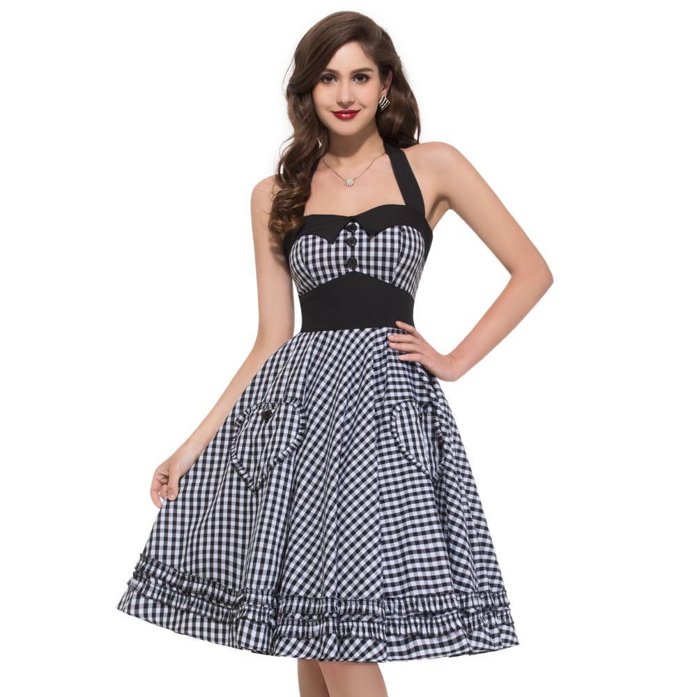 Vintage kleid gr 50