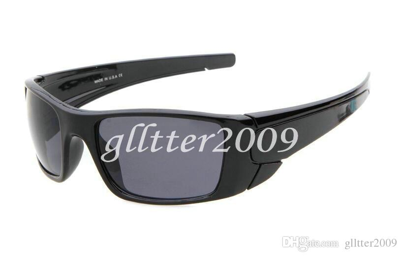 Sell well New Style Mens Outdoor sports Sunglasses Fashion Designer Classic Dazzle colour GLASSES Black frame Eyewear