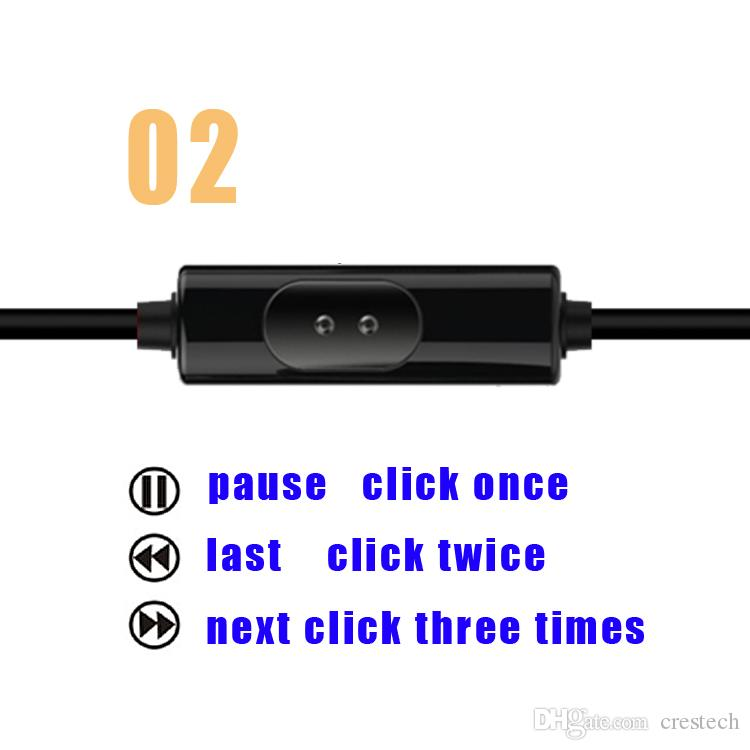 Kopfhörer Handy Headset im Computer MP3 Bass Musik Headset Kopfhörer Kabel Geeignet für jedes Mobiltelefon