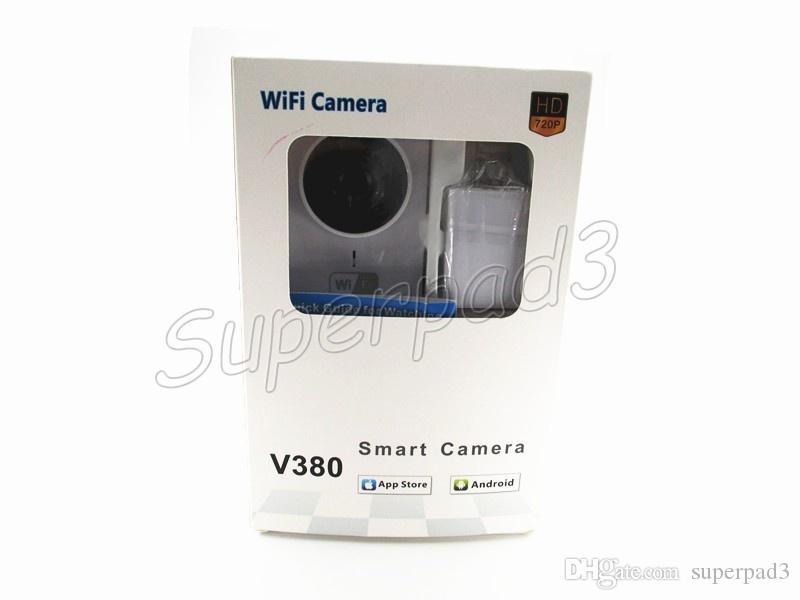 HD 720 P V380 IP Kamera WiFi Akıllı Ev Kablosuz Gözetim Kamera Güvenlik Kamera Dönebilen CCTV IOS PC