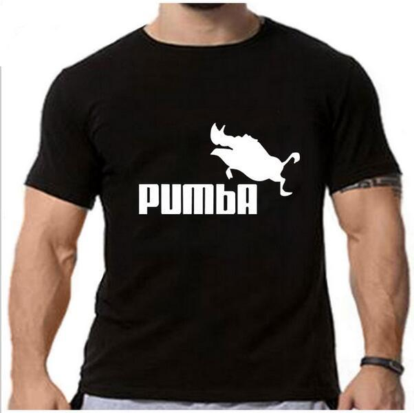 10888267 2018 New funny tee cute t shirts homme Pumba men women 100% cotton cool  tshirt