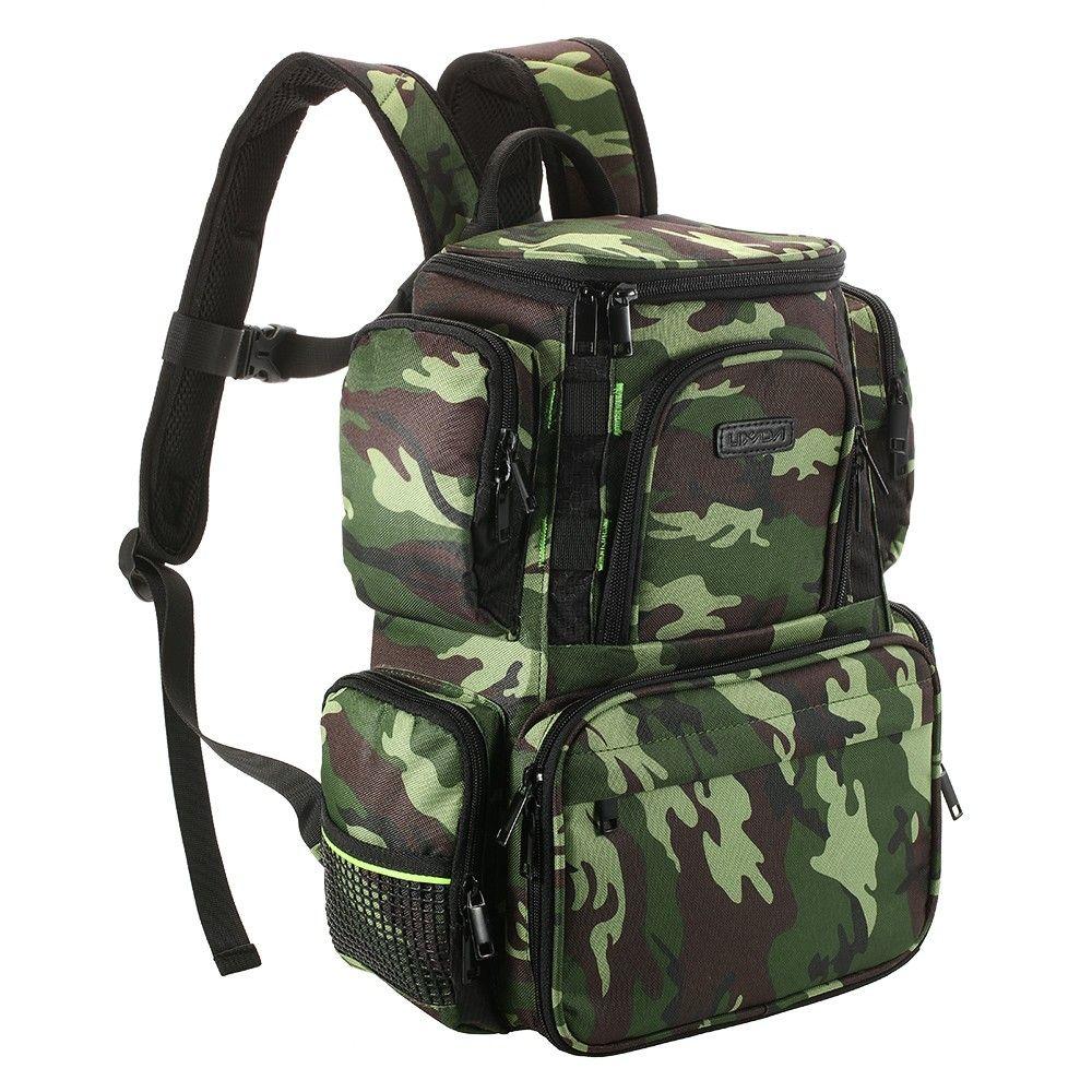 See larger image  sc 1 st  DHgate.com & 2018 Lixada Fishing Tackle Bag Backpack Fishing Lures Bait Box ... Aboutintivar.Com