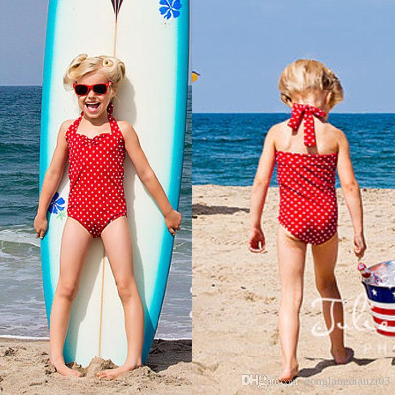 e867be75d7425 2019 2016 Wholesale Girls Baby Tankini Swimsuit Bikini Swimwear 2 7Y Kids  Swimming Costume Beachwear From Gonglangdianzi03, $5.61 | DHgate.Com