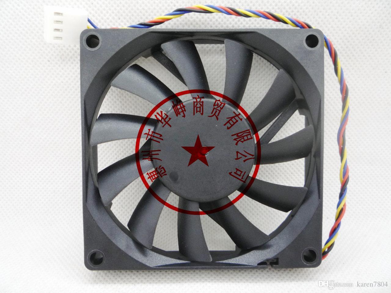 Nuevo Silverstone DF0801512RFMN 12V 0.18A 8cm 80 * 80 * 15 MM 4 líneas PWM termostato Ordenador ventilador