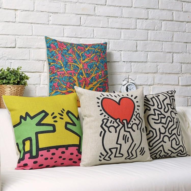 Pittsburg Arts And Crafts Center Keith Haring Art Painting