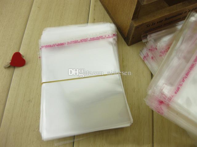 / 20 * 30cm 자기 접착 물개 OPP 가방 - 모든 투명 플라스틱 폴 리 가방 책 / 직물 / 선물 포장 파우치 자기 접착 스트립에 의해 봉인