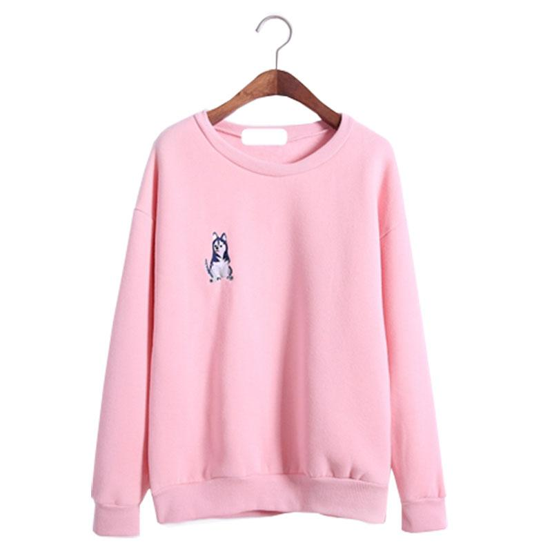 b794b7ccd702 Wholesale- 2017 express sweater women poncho autumn new jumper fleece  printed sweaters shirt women's pullover clothing vestidos LBD5662