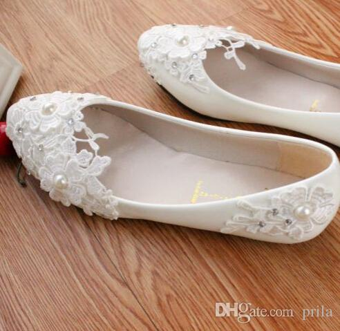 Plus big sizes white flat wedding shoes light ivory lace flowers plus big sizes white flat wedding shoes light ivory lace flowers butterfly 100 delicate handmade womens party wedding flats shoes wedding shoes womens junglespirit Image collections