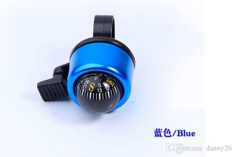 New Aluminum alloy Bicycle Bell Compass BIke Bell Sound Resounding High Quality Bike Handlebar Ring Horn Optional