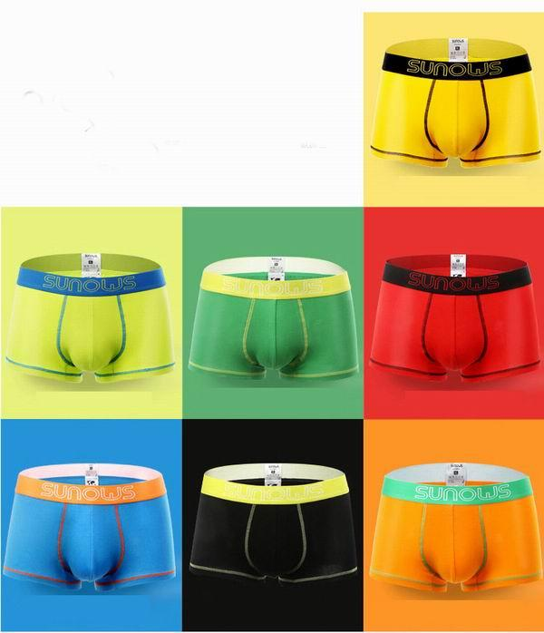 The New Men's Underpants In Solid Color Sexy Knickers Make For Cotton Highlight The Charm Of Men Direct Deal Hot Sale In 2016