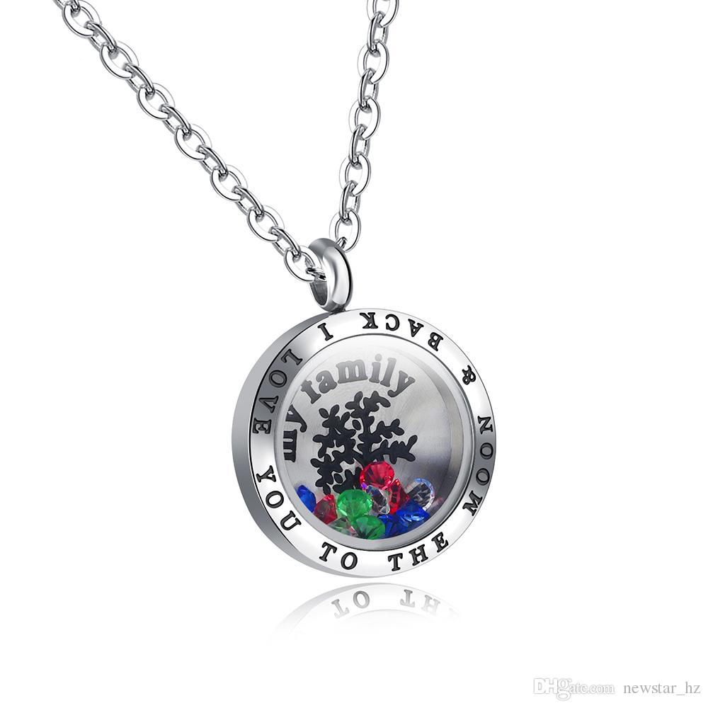 locket ferozasjewelry necklace mother glass day item lockets floating lane memory ruby s charm
