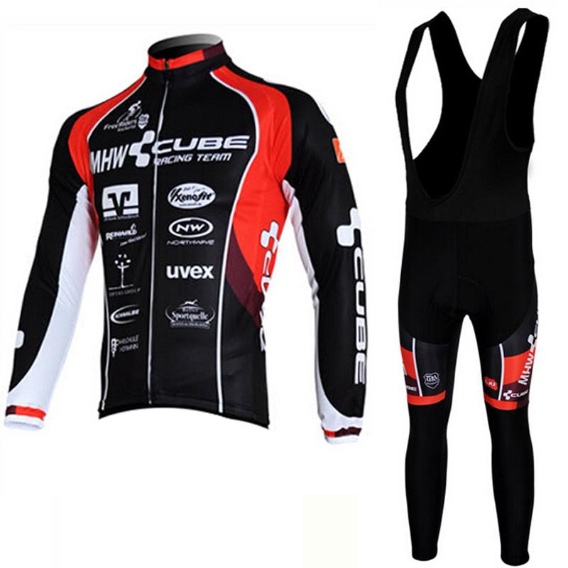 2017 Cube Long Full Sleeeve Autumn Cycling Jersey Roupa Ciclismo Breathable Bicycle  Clothing Maillot MTB Bike Jersey Ciclismo Clothing Bicycle Clothing Bike ... 4fad8bea8