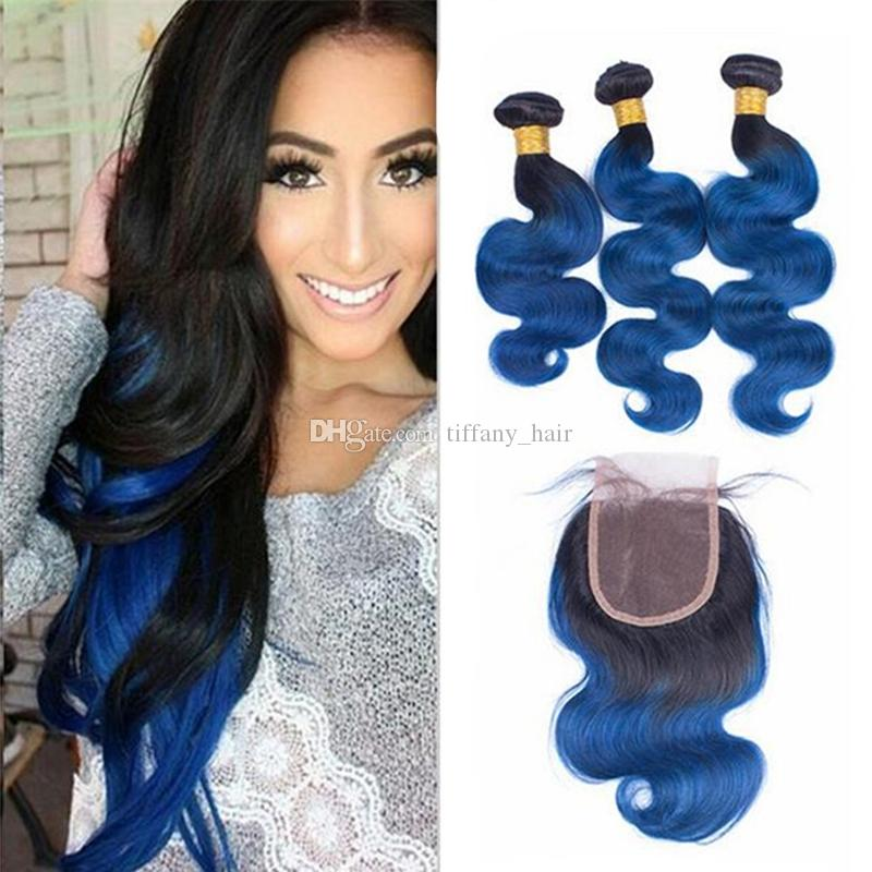 Blue and black hair weave best black hair 2017 hair update how i dyed my blue get wavy blue ombre hair weave pmusecretfo Choice Image