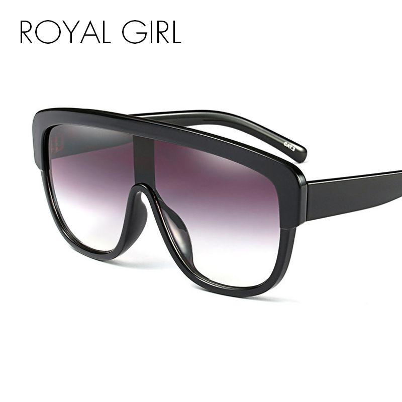 a46ffcccbc4 ROYAL GIRL Fashion Sunglasses Women Oversize Square Style Sun ...