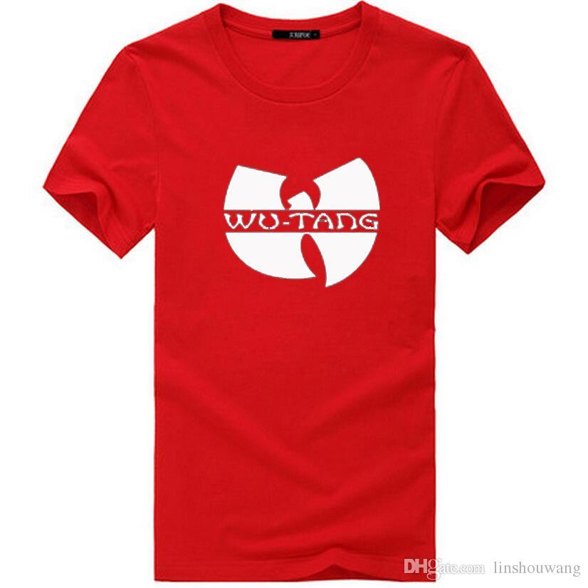 New Design Wu Tang Clan T Shirts Men Cotton Short Sleeve Cool ...